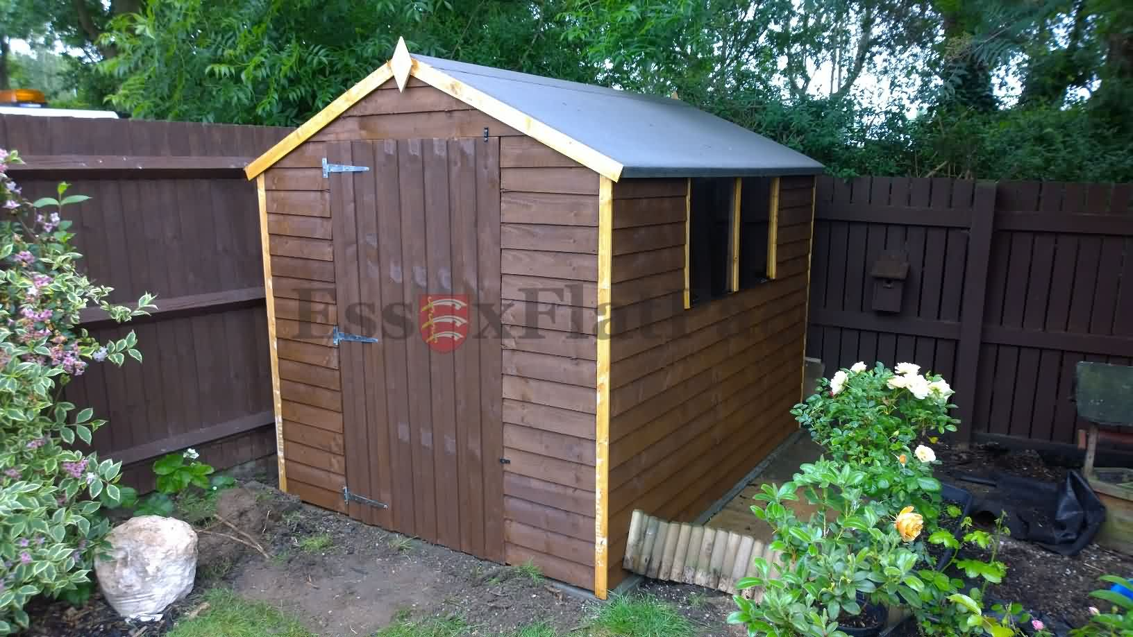 Sheds installation and assembly service essex for Garden shed installation