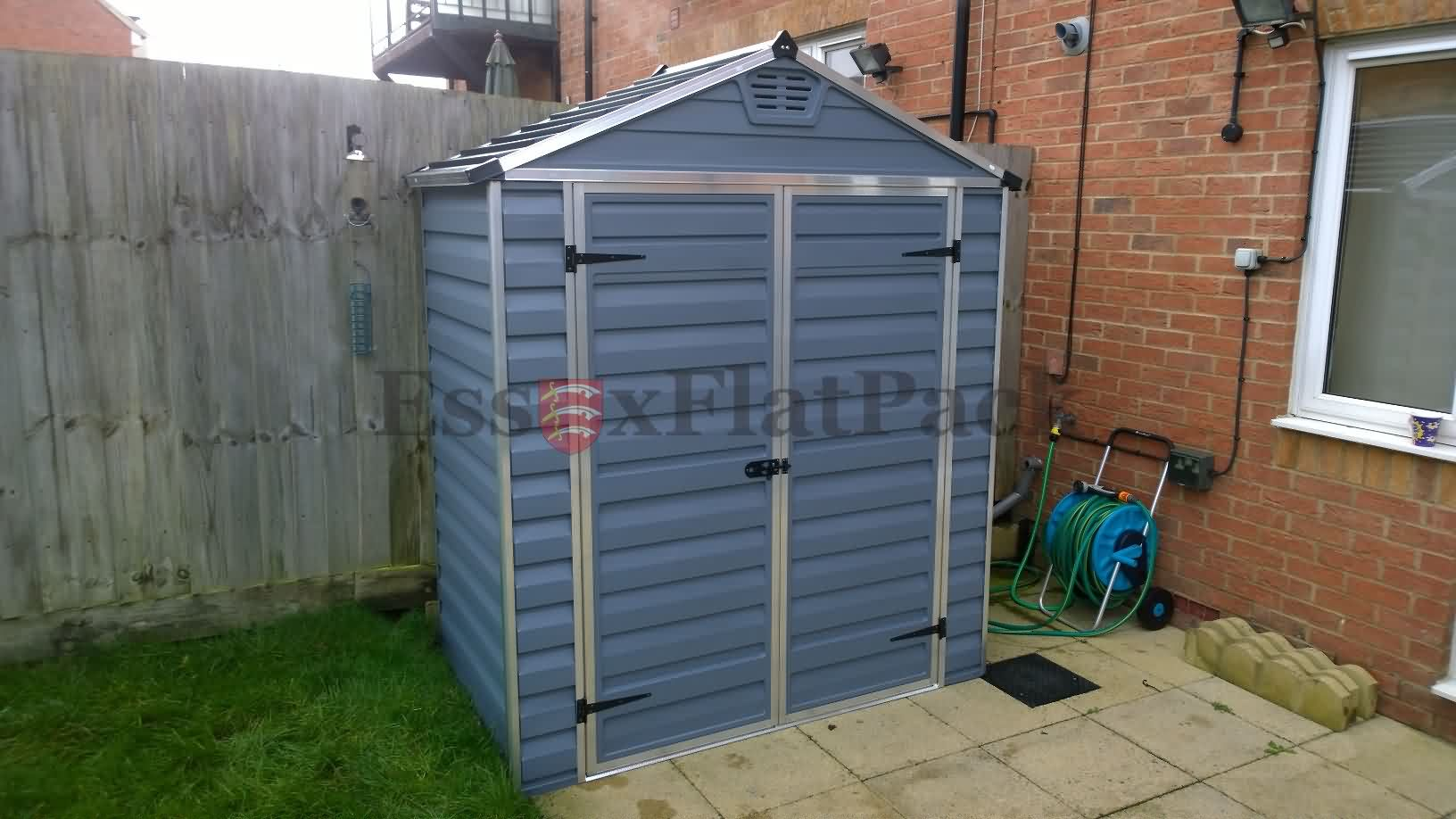 Installation and assembly of garden sheds and summer houses